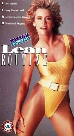 Jane Fonda's Workout:  Lean Routine [VHS]