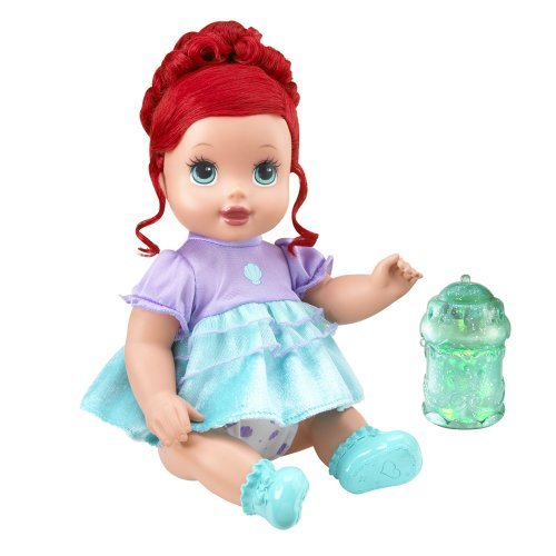 Disney Princess Sparkle Baby Cinderella Doll: Barbie Doll Reviews: Disney Princess Sparkle Baby Ariel Doll