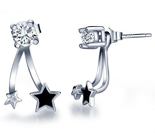 infinite-u-925-sterling-silver-cubic-zirconia-jackets-earring-women-girls-black-star-studs-multiple-