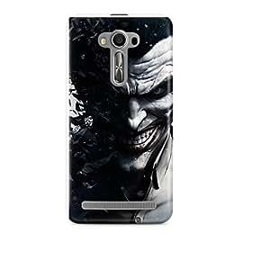 Motivatebox - Asus Zenfone Selfie Back Cover - Animated Polycarbonate 3D Hard case protective back cover. Premium Quality designer Printed 3D Matte finish hard case back cover.