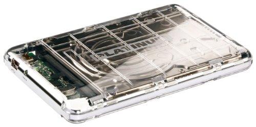 Platinum 104107 MyDrive 1TB Usb 2.0 Portable External Hard Drive - Transparent