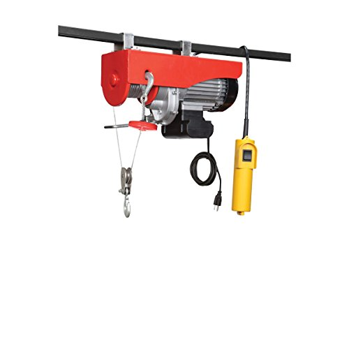 1300 Lb. Electric Hoist With Remote Control By Usatnm