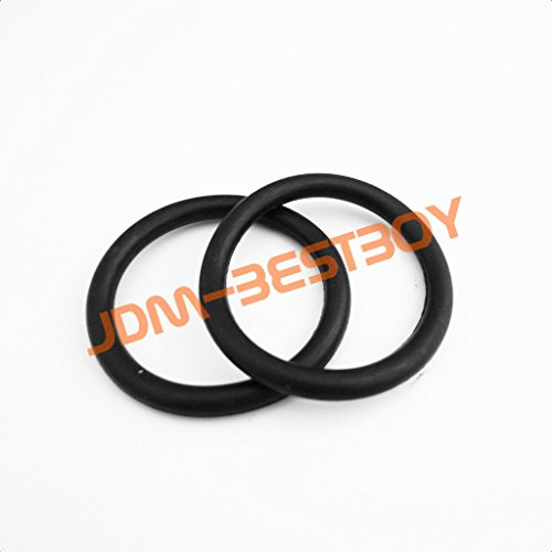 2pcs JDMBESTBOY Universal Bumper Quick Relese Fasteners Replacement Rubber Bands O Rings (Bumper Bands compare prices)