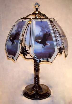 Eagle Touch Lamp Roger P Reedery