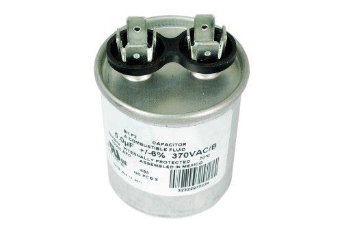 Motor Run Capacitor RC0006 - 5 mfd 370 V VAC volt 5 uf Round HVAC TEMCo AC Electric by TEMCo