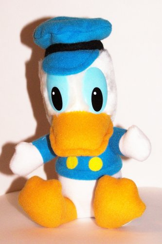 "Mickey's Christmas Carol: Plush Donald Duck As Scrooge's Nephew Fred 6"" - 1"