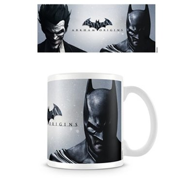 Batman - Arkham Origins Joker And Batman Tazza di ceramica in scatola di presentazione