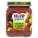HiPP Organic Red Fruit & Apple Compote 4+ Mths 125G
