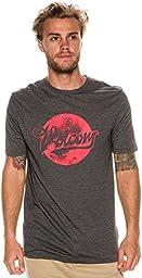 Volcom Men\'s Script Dot Surf Shirt, Black, Medium