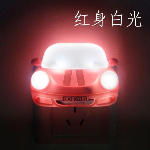 Charming Car Style Nightlight Energy Saving Led Night Light Car Lamp Vicarious Bedside Kitchen Cabinet Small Table Lamp Mini Night Light
