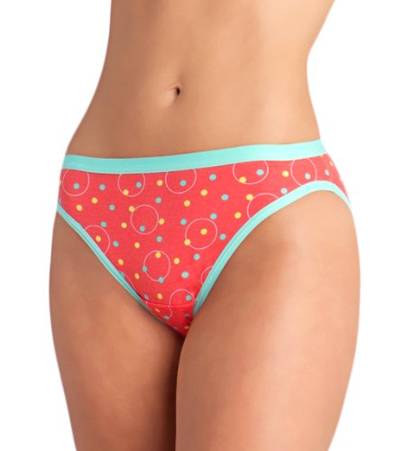 Fruit of the Loom 3pk Cotton Stretch Assorted Bikini