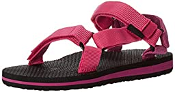 Teva Original Universal Sport Sandal (Toddler/Little Kid/Big Kid), Raspberry/Magenta-T, 9 M US Toddler