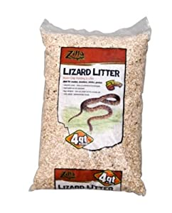 Brand New ENERGY SAVERS UNLIMITED,INC. - RZILLA LIZARD LITTER (4 QT REPLACES EN70042)