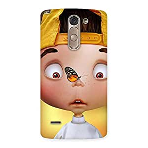 Impressive Confused Funny Boy Back Case Cover for LG G3 Stylus