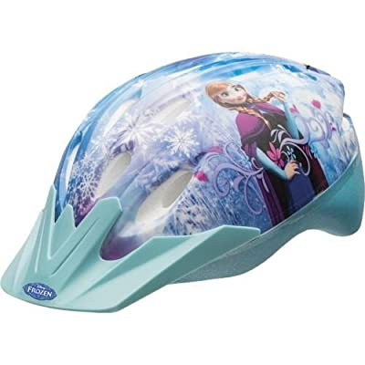 Disney Frozen Girls Skate / Bike Helmet, Pads & Gloves - 7 Piece Set by Bell