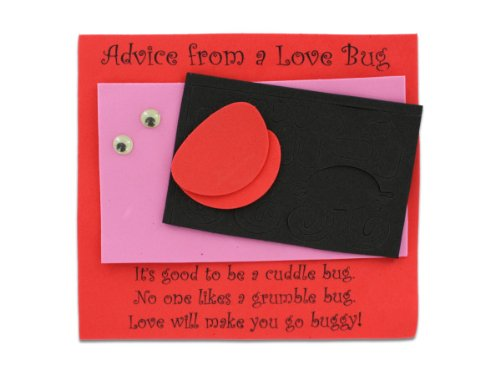 12 advice from a love bug craft kit - Pack of 60