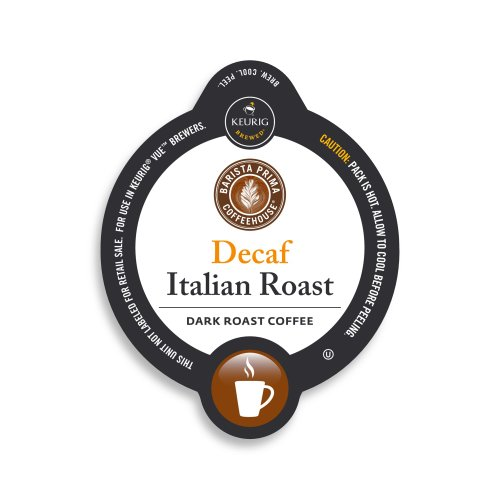 Barista Prima Decaf Italian Roast, Vue Cup Portion Pack for Keurig Vue Brewing Systems (72 Count) (Barista Prima Italian Decaf compare prices)