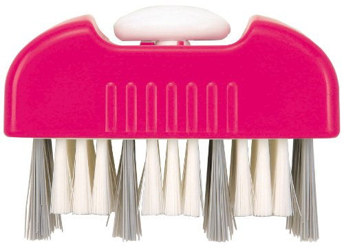 アイワ 風呂掃除・便利グッズ まるごと風呂ブタブラシ ピンク