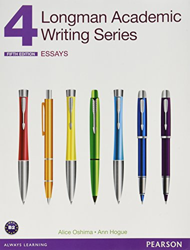 4longman academic writing series
