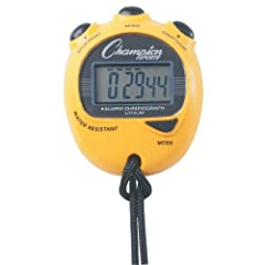 Buy Champion Sports Big Digit Display Stopwatch by Champion Sports