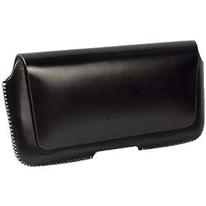 Krusell Hector Etui en cuir Passant ceinture avec rabat magnétique Taille 5 XL 163 x 83 x9 mm Noir