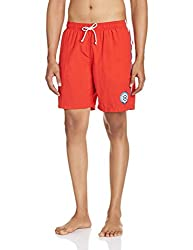 Gant Men's Synthetic Shorts (8907163979353_GMHHF0022_Large_Bright Red)