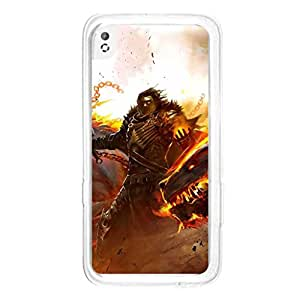 a AND b Designer Printed Mobile Back Cover / Back Case For HTC Desire 816 (HTC_816_2242)
