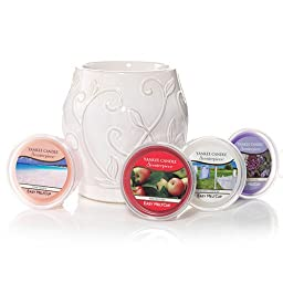 Yankee Candle Ivy White Kit Scenterpiece Easy MeltCup Warmer
