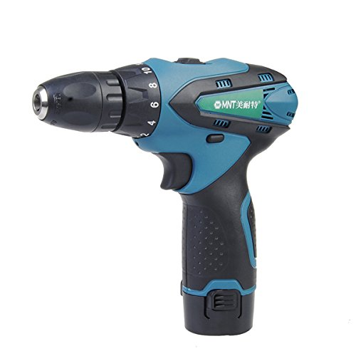 12V Two-speed Rechargeable Waterproof Handheld Electric Drill Screwdriver (Waterproof Drill compare prices)