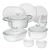French White 14 Piece Bakeware Set
