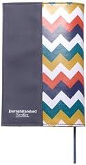 【Amazon.co.jp限定】JSFオリジナルブックカバー 文庫サイズ ジグザグ ネイビー (journal standard Furniture)