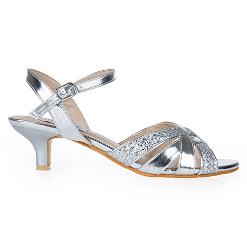 Low Heel Ankle Strap Dress Shoes Fs Heel