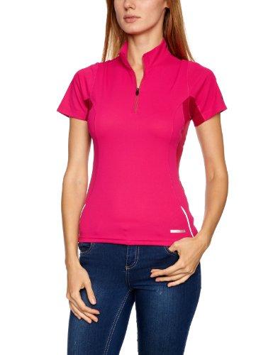Berghaus Women's Active Short Sleeve Zip Baselayer