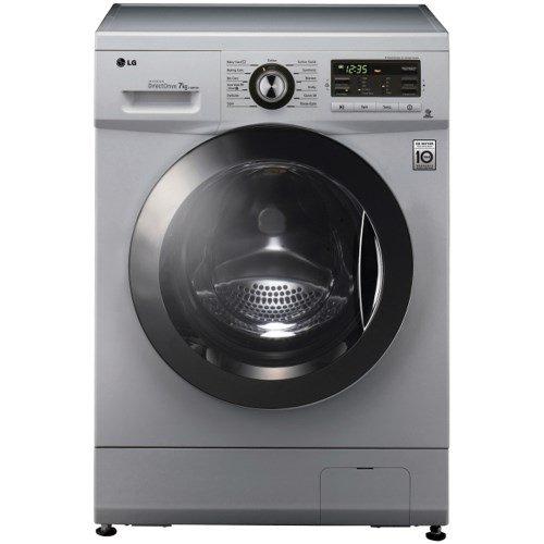 LG F1296TDA5 6 Motion Direct Drive 8kg 1200rpm Freestanding Washing Machine - Silver