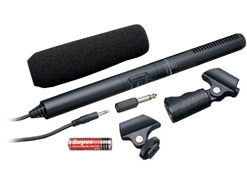 Audio-Technica Atr-6550 Video Camera Condenser Shotgun Microphone