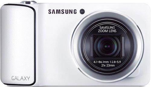 Samsung GC100 Galaxy Camera, Fotocamera 16.2 Mpx, Bianca - Italia