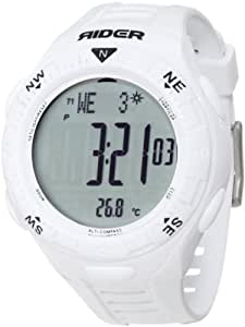 "Amazon.com: Rockwell Time Unisex RIR101 ""Rider"" Sport Watch with White"