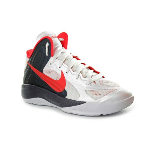 Nike Hyperfuse 2012 GS Basketball Shoes White Mens