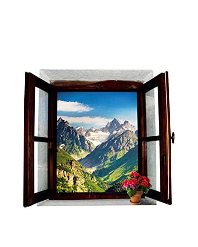 SuperStudio Vinilo Decorativo Window Mountain