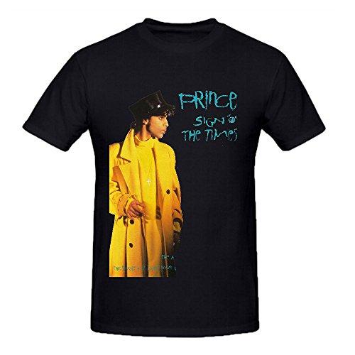 Prince Sign O the Times (disc 1) Rock Tour Men Crew Neck Printed Tee Shirts