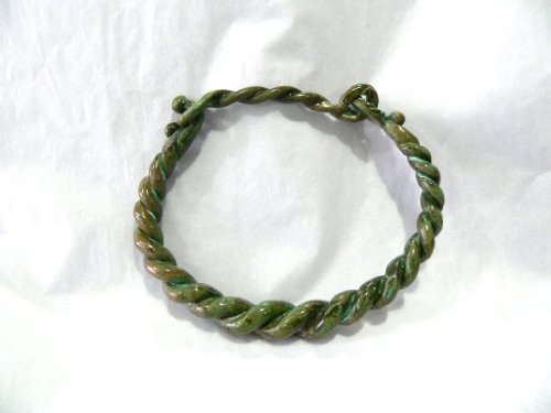 Historic Jewellery Reproduction Bronze - Bronze Age Twisted Wire Bangle - Unisex