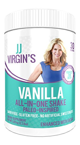 JJ-Virgins-Paleo-Inspired-All-in-One-Shake-Vanilla-Flavor-30-Servings-20-Grams-Clean-Protein-Weight-Loss-Support-Meal-Replacement-Dairy-Gluten-Free