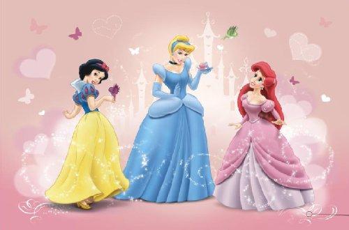 Kaffee Von Tapete Entfernen : Kinderzimmer Disney Prinzessin Foto-Tapete Bild 4-009 4017204400938