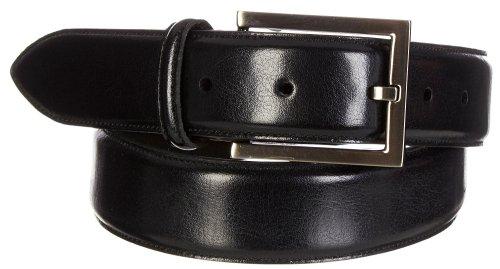 Boca Classics Black Soft Touch Dress Belt 34 Black