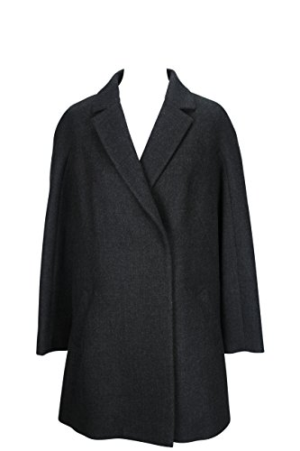 paule-ka-womens-coat-size-6-us-42-it-regular-grey-virgin-wool