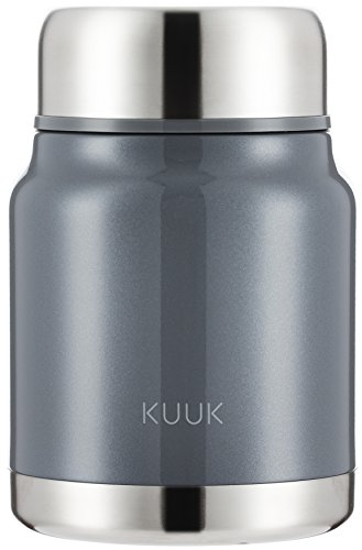 Kuuk Lunch / Soup Container thermos Flask To Go - 17oz (Leak Proof Soup Containers compare prices)