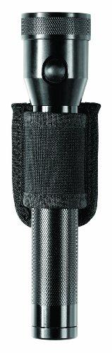 Bianchi Patroltek 8026 Black Open Top Compact Flashlight Holder (Size 2)