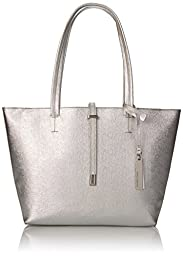 Vince Camuto Leila Small Tote, Silver, One Size
