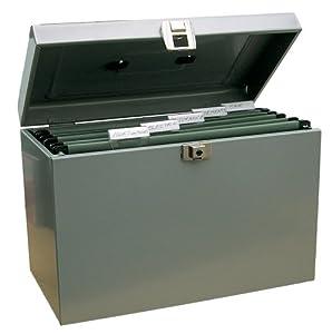 Boite metallique rangement papier