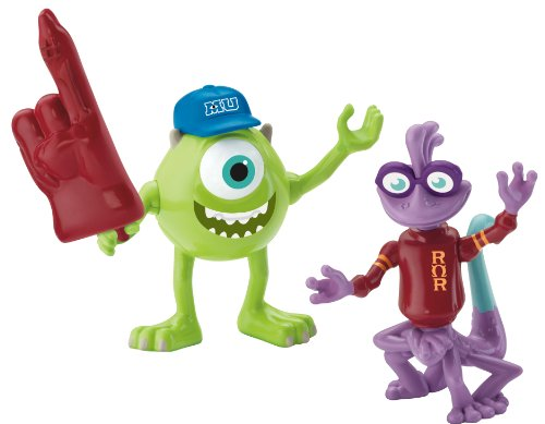 Imaginext Disney Pixar Monsters University Mike & Randy (Monster Inc Figures compare prices)